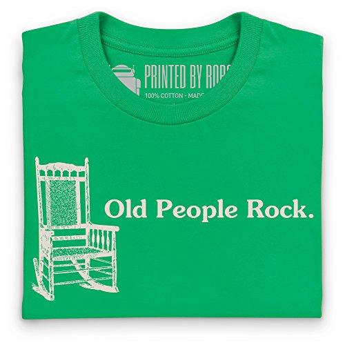 Old People Rock T-Shirt, Damen Keltisch-Grn