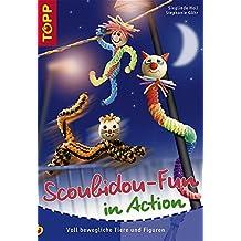 Scoubidou-Fun in Action: Voll bewegliche Figuren und Tiere zum Spielen, Anklammern, als Geschenk