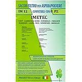 mfim12 conf. 8 piezas Bolsas Compatible para todos los modelos Indicati Nella fotos Imetec Coop