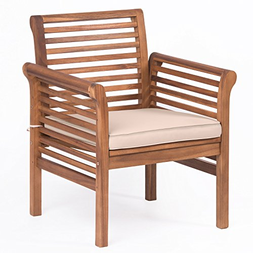 Plant Theatre Hardwood Garden Sofa Armchair with Cushion included