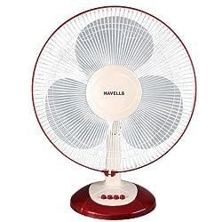 (CERTIFIED REFURBISHED) Havells Swing Lx 400mm Table Fan (Cherry)