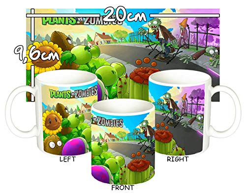 MasTazas Plantas Vs. Zombies Plants Vs. Zombies A Tasse Mug - Von Vs Bilder Plants