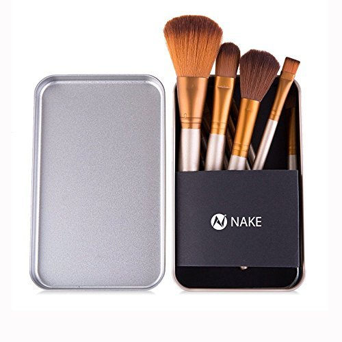 NAKE D3 -12pcs/set Makeup Cosmetic Naked Brushes Set Professional Powder Foundation Eye shadow Lip Brush Tool with Box by NAKE