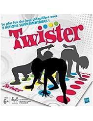 Twister - Jeu de societe Twister - Jeu d'adresse rigolo - Version française