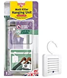 Zero In Moth Killer Hanging Unit (Effective Protection, Tackles Clothing Moths, Larvae and Eggs in the Home, Effective for up to 6 Months) - Twin Pack