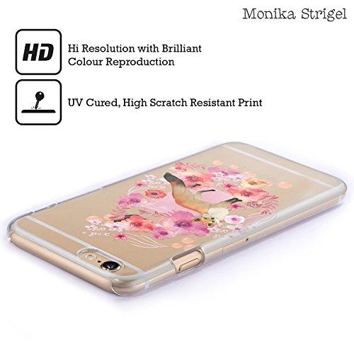 Offizielle Monika Strigel Fuchs Tiere Und Blumen 2 Ruckseite Hülle für Apple iPhone 5 / 5s / SE Fuchs