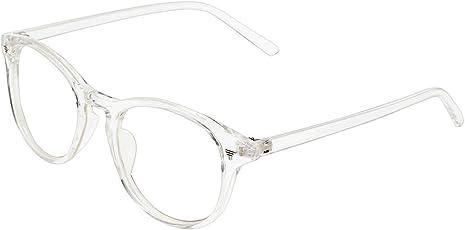 Zyaden White Round Unisex Eyewear Frame 466