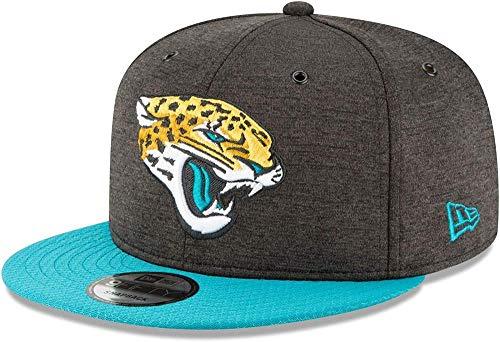 New Era NFL Jacksonville Jaguars Authentic 2018 Sideline 9FIFTY Snapback Home Cap, Größe :M/L