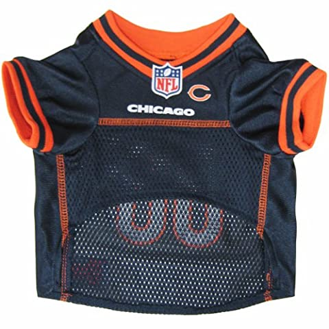 Mirage Pet Products NFL Chicago Bears Jersey, Large