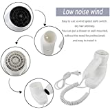 Low Noise Hotel Home Bathroom Ergonomic Wall Mounted Electric Hair Dryer