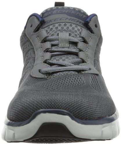 Skechers SynergyPower Switch, Sneakers Uomo Grigio (CCNV)