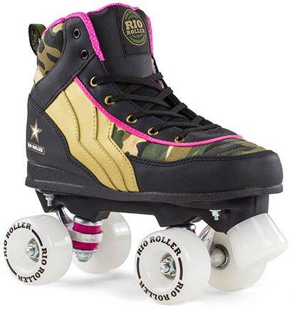 Und Trucks Roller Skate Wheels (Camo Quad Skate, size:38;producer_color:CAMO)