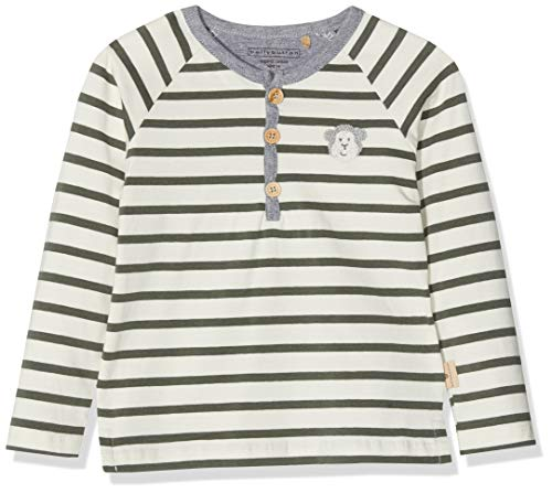 Bellybutton mother nature & me Baby-Jungen T-Shirt 1/1 Arm Langarmshirt, Mehrfarbig, 68