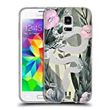 Head Case Designs Schlange Wilder Wald Soft Gel Hülle für Samsung Galaxy S5 Mini