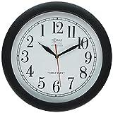 : Backwards Clock Linksumgewand Time Piece Witz Neuheit Streich-Geschenk