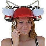 Skywalk Drinker Beer and Soda Guzzler Helmet & Drinking Hat