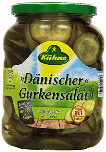 Kühne Gewürzgurke Dänischer Gurkensalat, 360 g