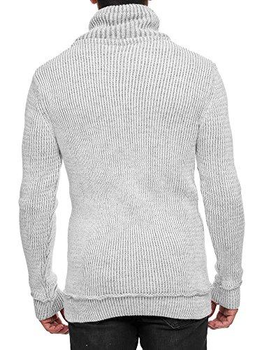 Herren Pullover, Strickpullover, Sweatshirt Weiß