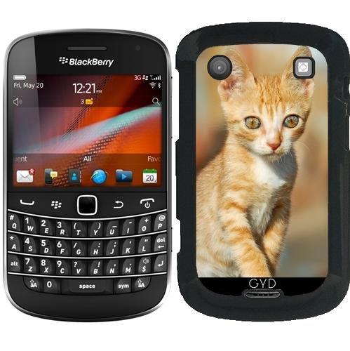 Custodia per Blackberry Bold 9900 - Gattino Con Gli Occhi Come Gioielli by Katho Menden