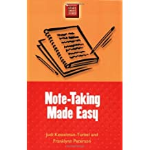 Note-Taking Made Easy (Study Smart)