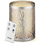 Migliora l'atmosfera di qualsiasi stanza e rilassati dopo una dura giornata di lavoro con il nostro meraviglioso diffusore di oli. Il suo design unico, le calde luci LED bianche, il bellissimo rivestimento e l'effetto candela (opzionale) prom...