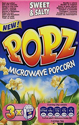Preisvergleich Produktbild Popz Popcorn Sweet und Salt,  4er Pack (4 x 255 g)