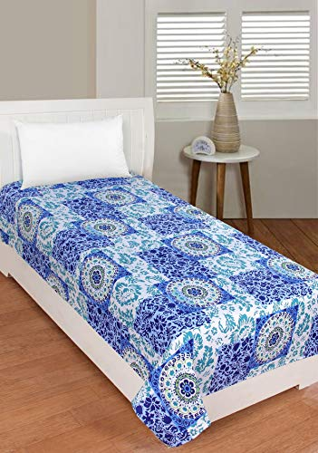 RD TREND Super Soft Poly-Cotton Bedsheet/Topsheet, Size 60 inch x 90 inch