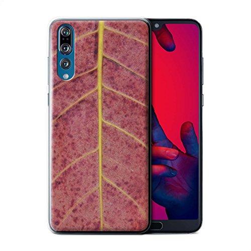 Stuff4® Hülle/Case für Huawei P20 Pro/Herbst Muster/Pflanzen/Blätter Kollektion