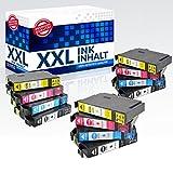 12x Drucker Patronen 2018 Inbusco für Epson PK 29 XL Expression Home XP 235 XP 245 XP247 XP332 XP342 XP345 XP 432 XP435 XP442 NEU