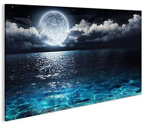 De Imágenes sobre lienzo Luna 1P XXL Póster Lienzo–Cuadro de Islandburner–Up Your Life®