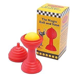 Bristol Novelty mc024a Bola y jarrón, Color Rojo/Amarillo, Talla única