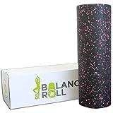 Balance Roll Original Faszienrolle Extra Lang (Härtegrad Hart) - XL Faszien Rolle zur Selbstmassage für Fortgeschrittene und Profis inkl. Anleitung mit Übungsbeispielen - Made in Germany