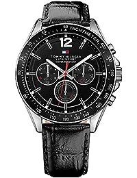 Tommy Hilfiger Herren-Armbanduhr Analog Quarz Leder 1791117