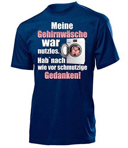 love-all-my-shirts Meine Gehirnwäsche WA nutzlos - HAB Nach wie vor Schmutzige Gedanken 5856 Herren T-Shirt (H-N) Gr. M