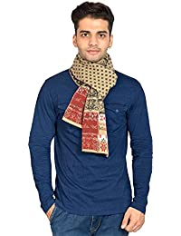 513 Jacquard Knitted Wool/Acrylic Men's Muffler