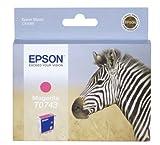 Epson T0743 Tintenpatrone Zebra, Singlepack magenta