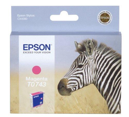 Epson T0743 Cartouche d'encre d'origine Magenta