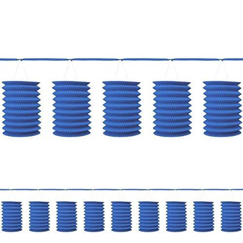 Amscan International 22055–105–55Girlande Laterne, Royal Blau