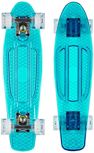 Ridge Skateboard Blaze Mini Cruiser , blau/weiß, 55 cm