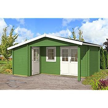 Gartenhaus Gotland C 70 Schlafboden Blockhaus 440x595cm 100cm