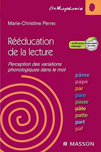 Rééducation de la lecture par le mot - Perception des variations phonologiques