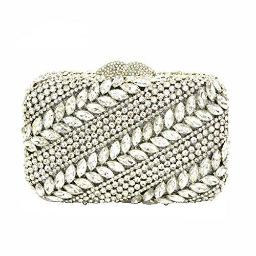 Frauen-Diamant-Abendtasche Luxus-Mode-Handtasche B
