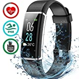 IP68 Waterproof Fitness Tracker, Colour Screen Heart Rate Monitor 14 Exercise 5