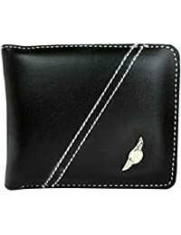 Apki Needs Mens Wallet Stylish, Fashionable & Textured Black Wallet