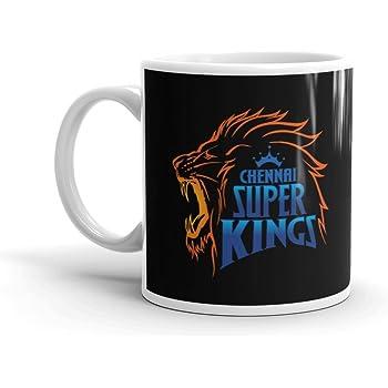 Indian Premier League Coffee Mug Cricket Fan – Chennai Super Kings Mugs  Ceramic Material 8cb2913c6076