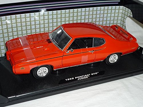 pontiac-gto-judge-1969-coupe-orange-oldtimer-1-18-motormax-modellauto-modell-auto