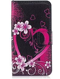 Funda tipo cartera para iPhone, diseño transparente de alta calidad, piel sintética, TPU, resistente a los golpes, ranuras para tarjetas, cierre magnético, función atril, funda tipo libro para iPhone color 11 iPhone 8 plus