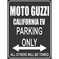 Parkplatz - Parking Only - Moto Guzzi California EV - Parkplatzschild