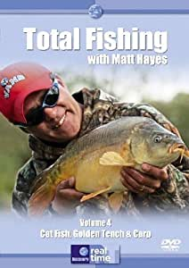 Total Fishing With Matt Hayes Vol 4 - Cat Fish, Golden Tench And Carp [DVD]