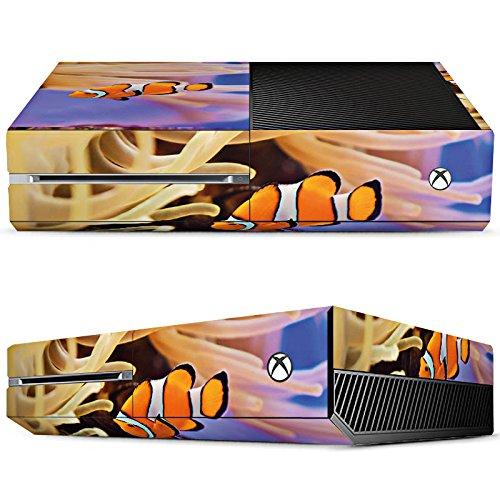 Microsoft Xbox One Design Skin Folie Aufkleber - Anemone Fish (Anemone Bag)